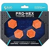 Sliq Gaming PS4 Pro-Hex Thumb Stick Grips - PlayStation 4 - Orange (Color: Orange)