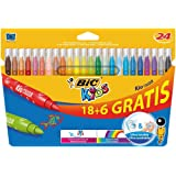 BIC 841803 - Pack de 24 rotuladores, multicolor