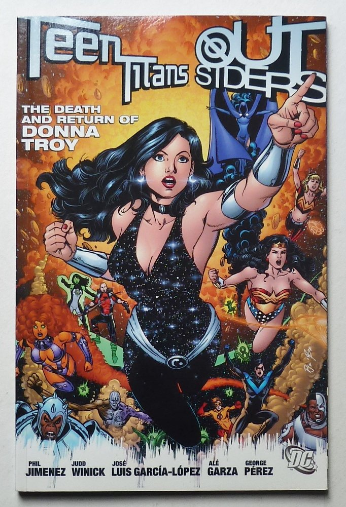 Teen Titans/Outsiders: The Death and Return of Donna Troy (An Infinite  Crisis Story) (Teen Titans) Paperback – Import, May 26, 2006