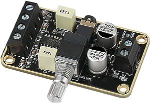 DollaTek Audio Amplifier Board, PAM8406 Digital Power Amplifier Board 5W+5W Immersion Gold Stereo Amp 2.0 Dual Channel Mini Class D DC5V Amplify DIY Circuit Module