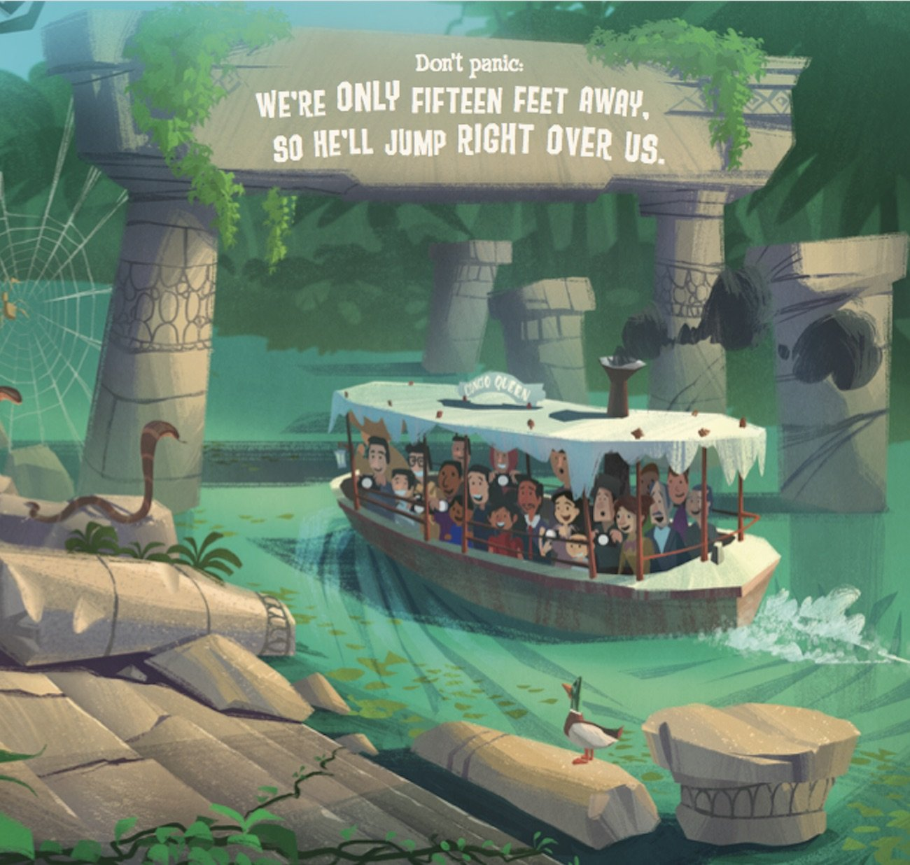 Disney Parks Presents: Jungle Cruise: Purchase Includes a CD with Narration! by Disney Press (Image #7)