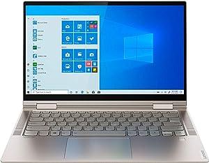 "Lenovo Yoga C740 14"" FHD Touchscreen Laptop with Intel 10th gen i7-10510U Processor up to 4.9GHz, 16GB DDR4 Memory, 1TB SSD PCIe Storage, Mica Color (10th gen i7-10510U)"