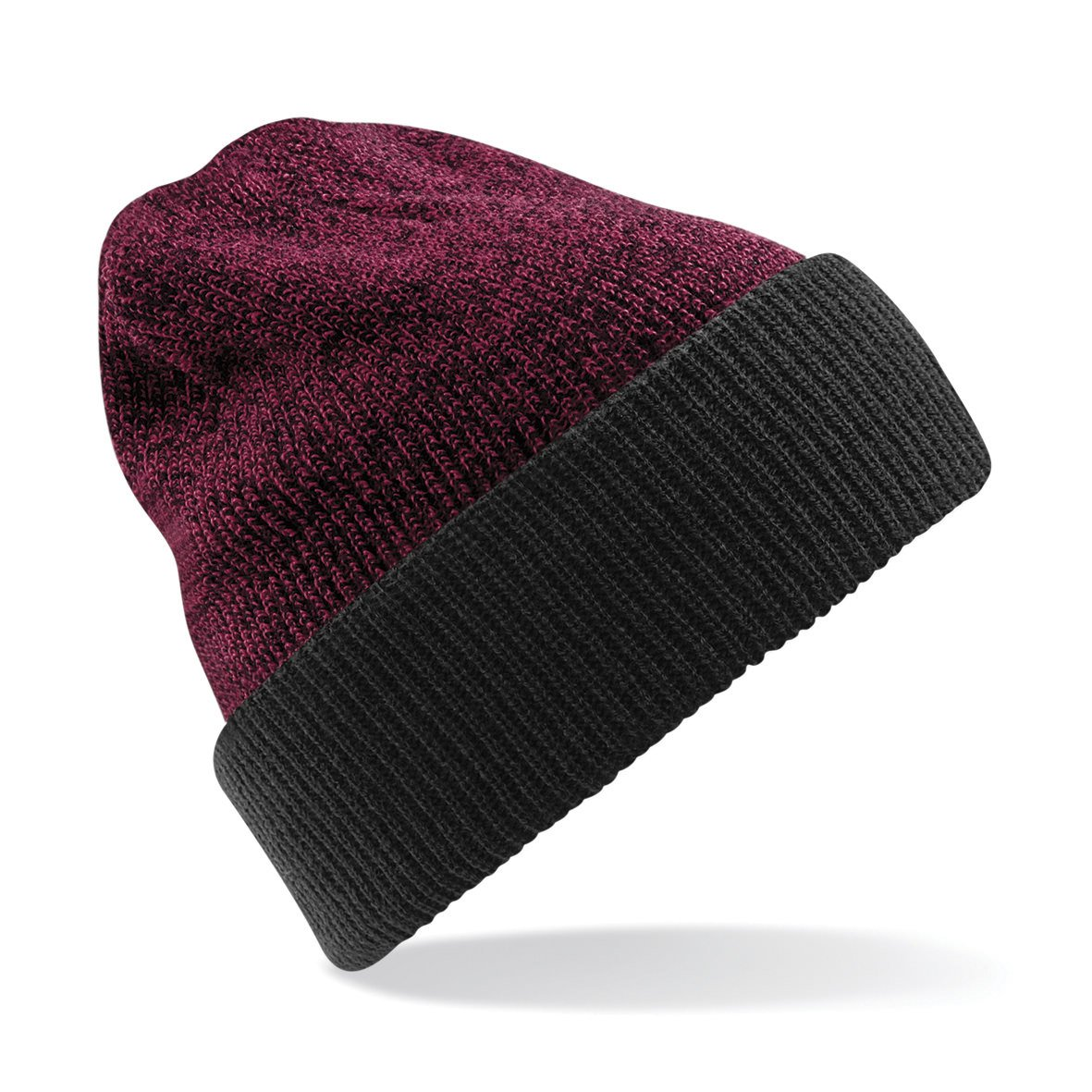Beechfield Reversible Heritage Beanie 4 Colours Available