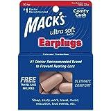 Protetor Auricular Mack's Ultra 33db 10 Pares com Case Bege