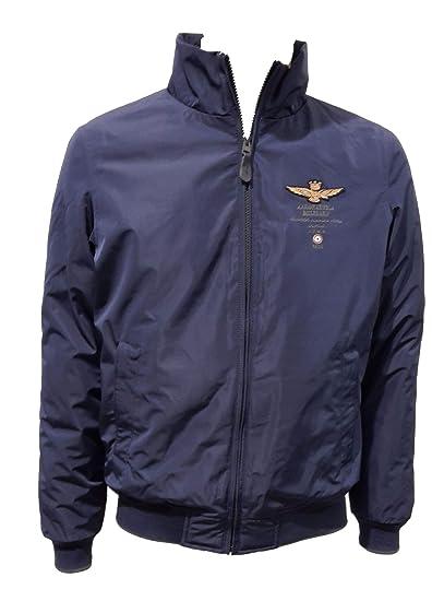 Aeronautica Militare Chaleco ab1580 Azul Sailor Hombre de Invierno, Chaqueta, pantalón, Sudadera 08184 BLU Navy XX-Large: Amazon.es: Ropa y accesorios