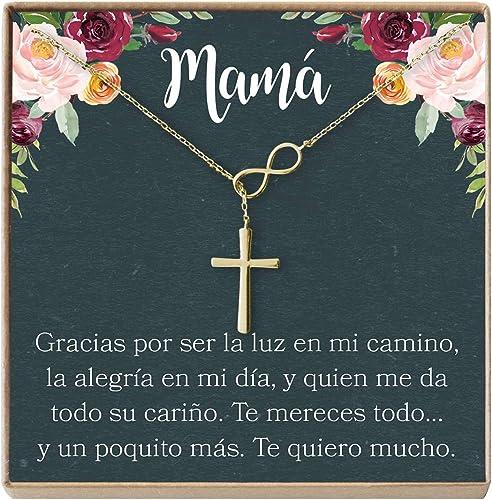 Mamá Mama Madre Pulsera de Oro Regalo Para Mama hecho a mano