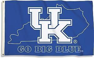 BSI NCAA College Kentucky Wildcats 3 X 5 Foot Flag with Grommets