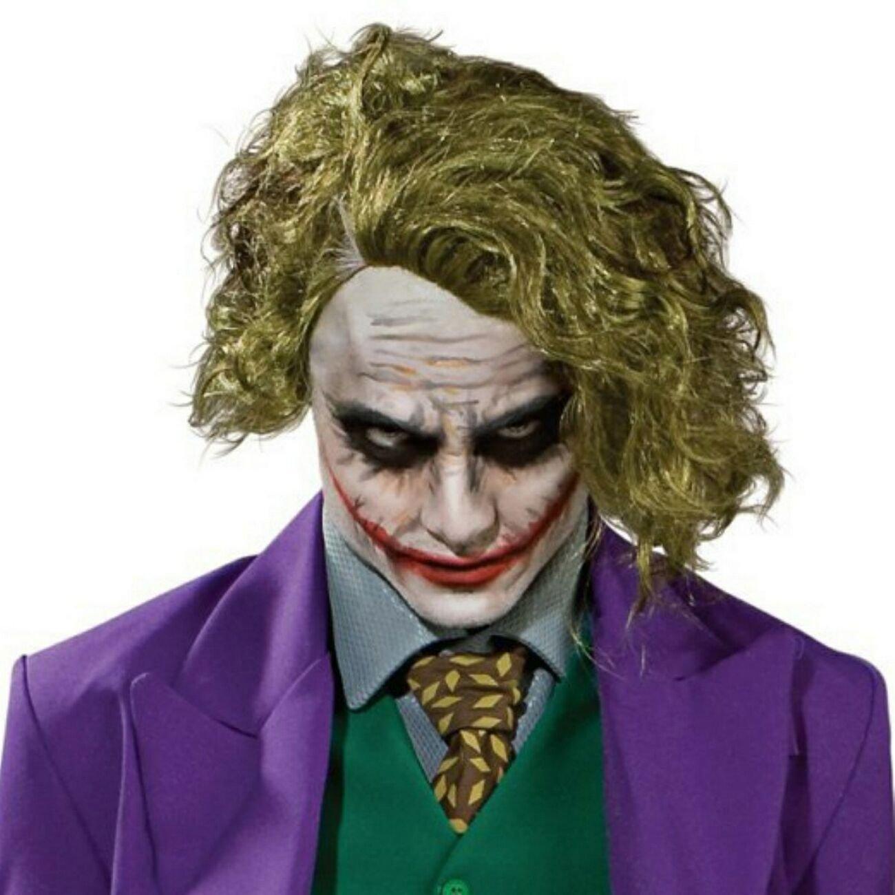 Rubies Offizielle Joker Perücke Aus Batman Für Erwachsene Einheitsgröße