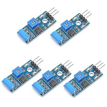 willwin 5pcs sw 420 nc type vibration sensor module vibration switch