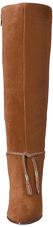Aerosoles Women's Square Foot Knee High Boot B074GZCJ66 5.5 B(M) US Dark Tan Suede