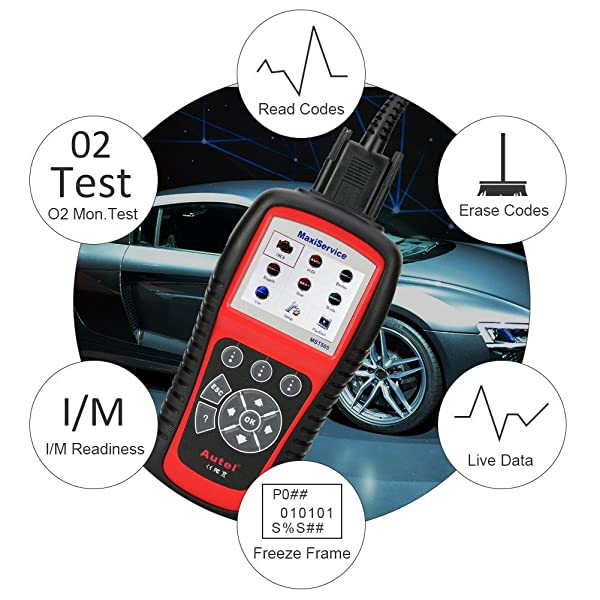 MST5050 lets you rest the warning lights, erase trouble codes, stream live data