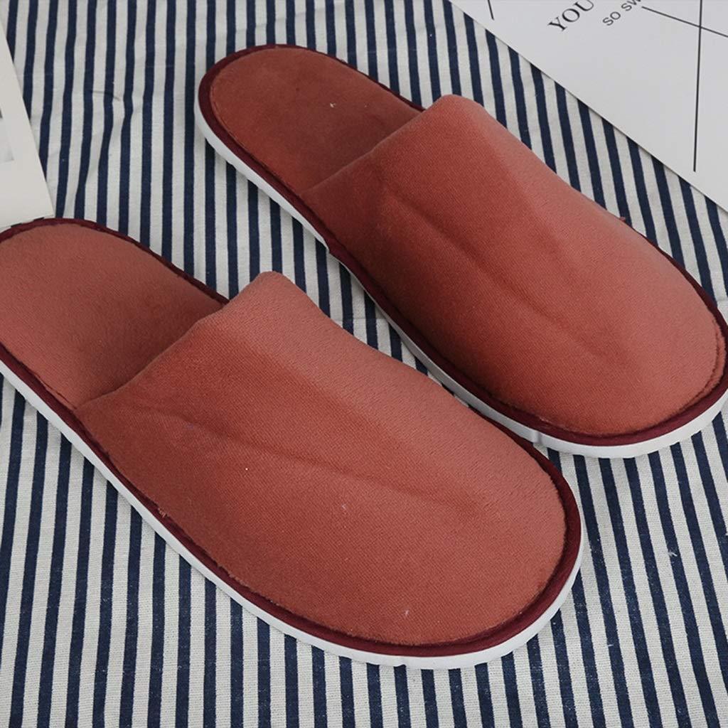 ZPF Sauna SPA Zapatillas Zapatillas Desechables para Hombres 100 Hotel De Doble Engrosamiento Zapatillas para Hombres Zapatillas De Uñas De Belleza ...