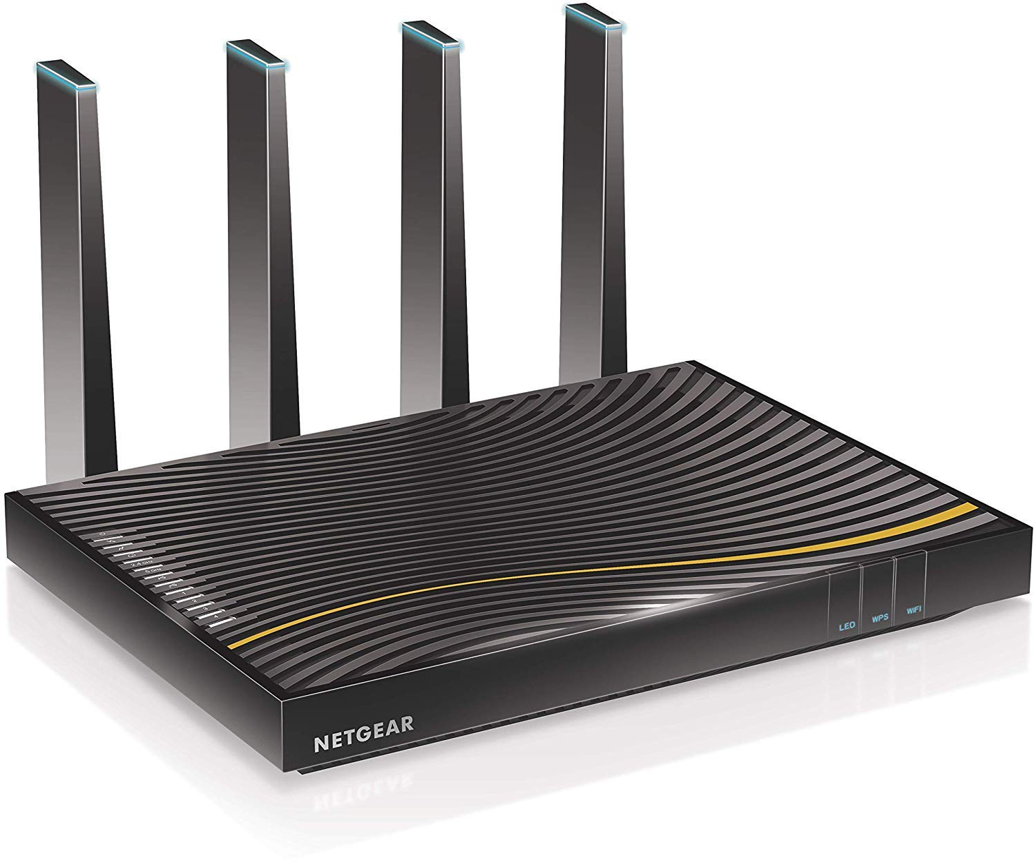 Netgear C7500-100NAS NETGEAR Nighthawk X4 (24x8) AC3200 DOCSIS 3.0 Cable Modem WiFi Router Combo Gateway| Certified for Xfinity by Comcast, COX, Spectrum & More(C7500-100NAR) (Renewed) by NETGEAR