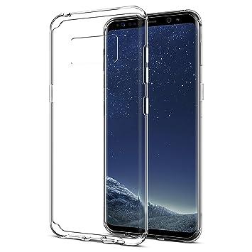 coque samsung s8 plus silicone transparente