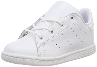 reputable site b443a 53ea2 Adidas Stan Smith - Basket Mode - Enfant - Blanc (Ftwr WhiteFtwr White