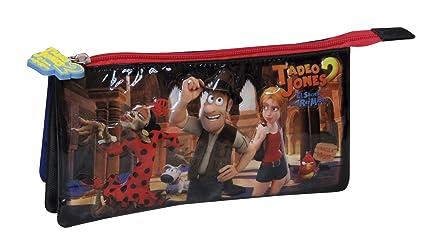 Amazon.com: Tadeo Jones PORTATODO Triple (pt-03-tj): Toys ...