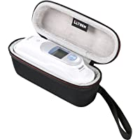 Thermometer Case by LTGEM - Fits Braun Thermoscan 7 IRT6520 Thermometer EVA Hard Case Travel Protective Carrying Storage Bag