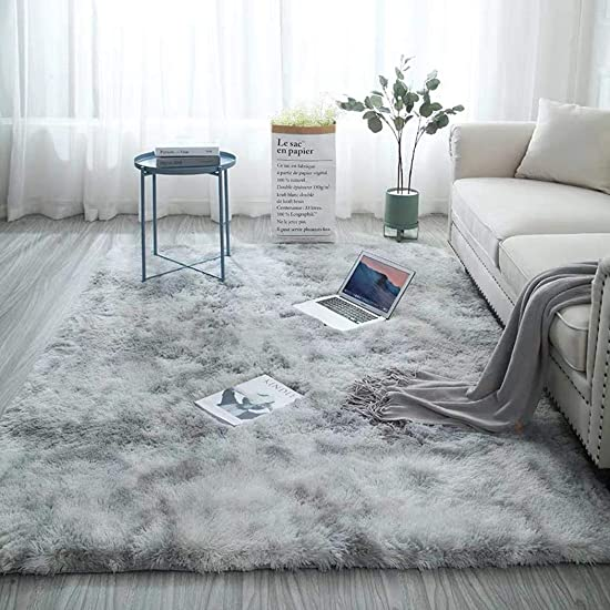 Hiriyt Ultra Soft Modern Area Rugs Nursery Rug Home Room Plush Carpet Decor Area Rugs