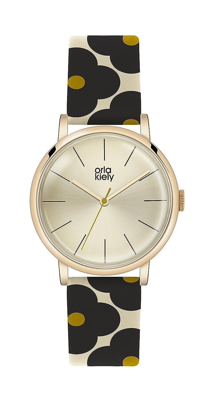 Orla Kiely Damen-Armbanduhr OK2074