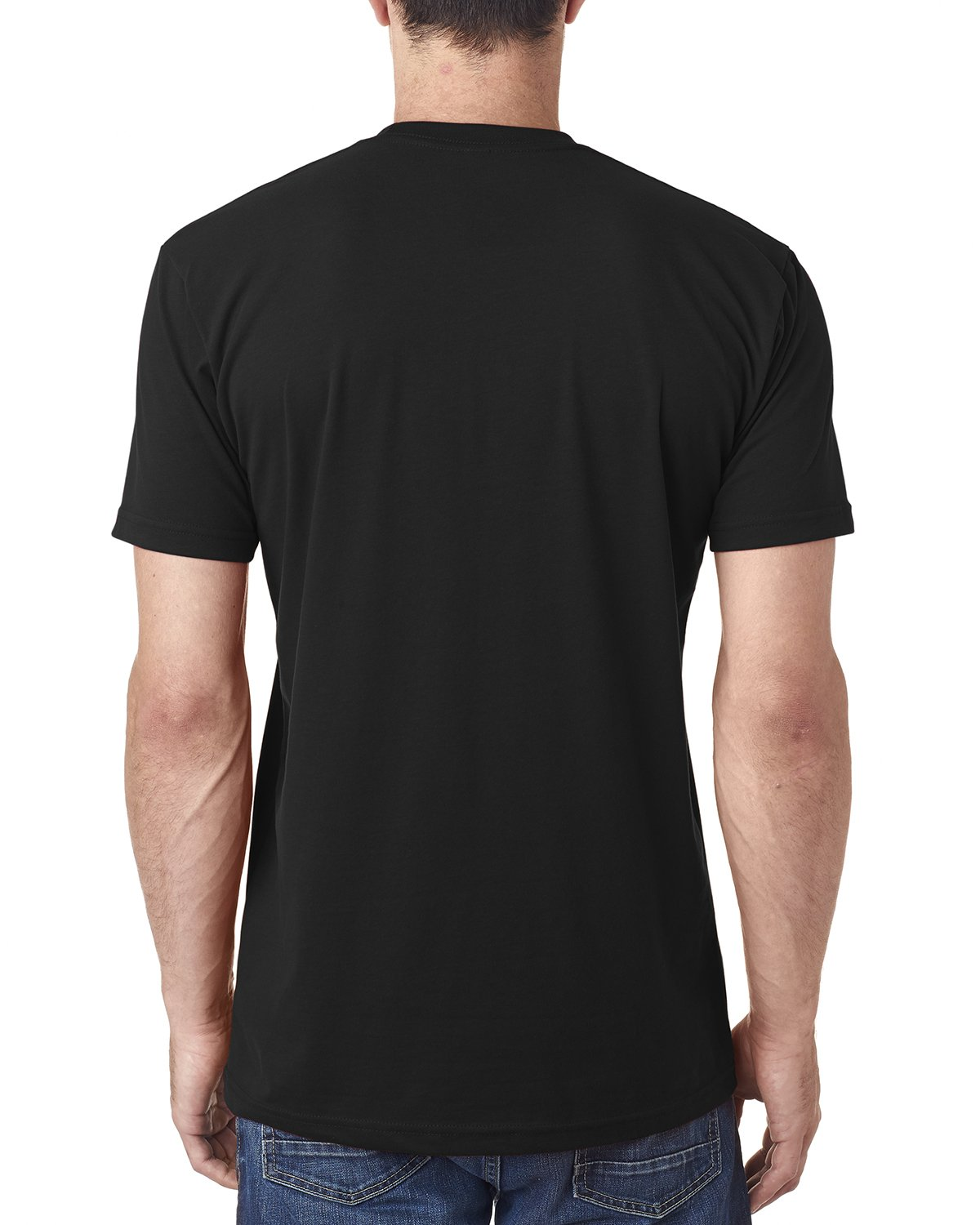 ad87e81026fe5f Amazon.com  6410 Next Level Men s Premium Fitted Sueded Crewneck T-Shirt   Clothing