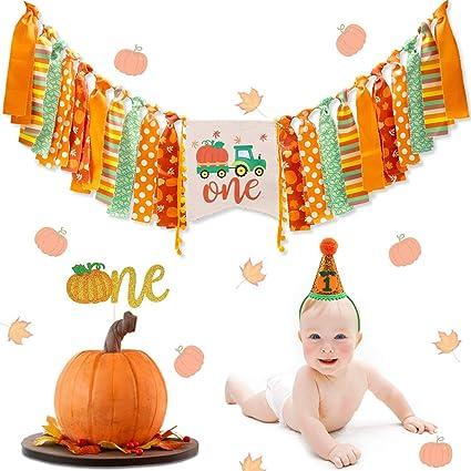 First Birthday Pumpkin Fall Banner 1st Birthday Pumpkin Pumpkin Birthday Banner Pumpkin Birthday Pumpkin High Chair Banner