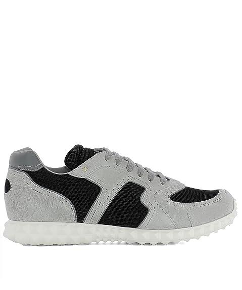 VALENTINO GARAVANI - Zapatillas para Hombre Gris Gris, Color Gris, Talla 45.5: Amazon.es: Zapatos y complementos