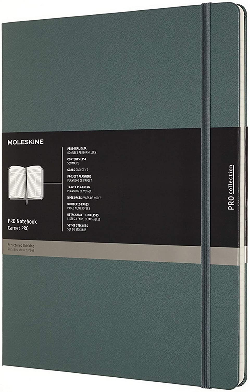 Amazon.com: Moleskine - Cuaderno profesional, XXL, color ...