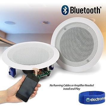 Bluetooth Bathroom Ceiling Speaker. Ceiling Speakers 60w Wireless Bluetooth Audio Streaming Home Audio Living Room
