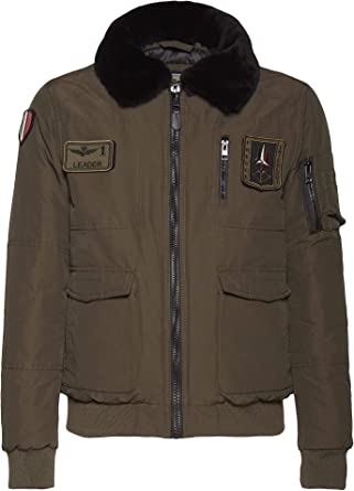 Aeronautica Militare - Chaqueta AB1789 Pilota - para Hombre, Polo ...