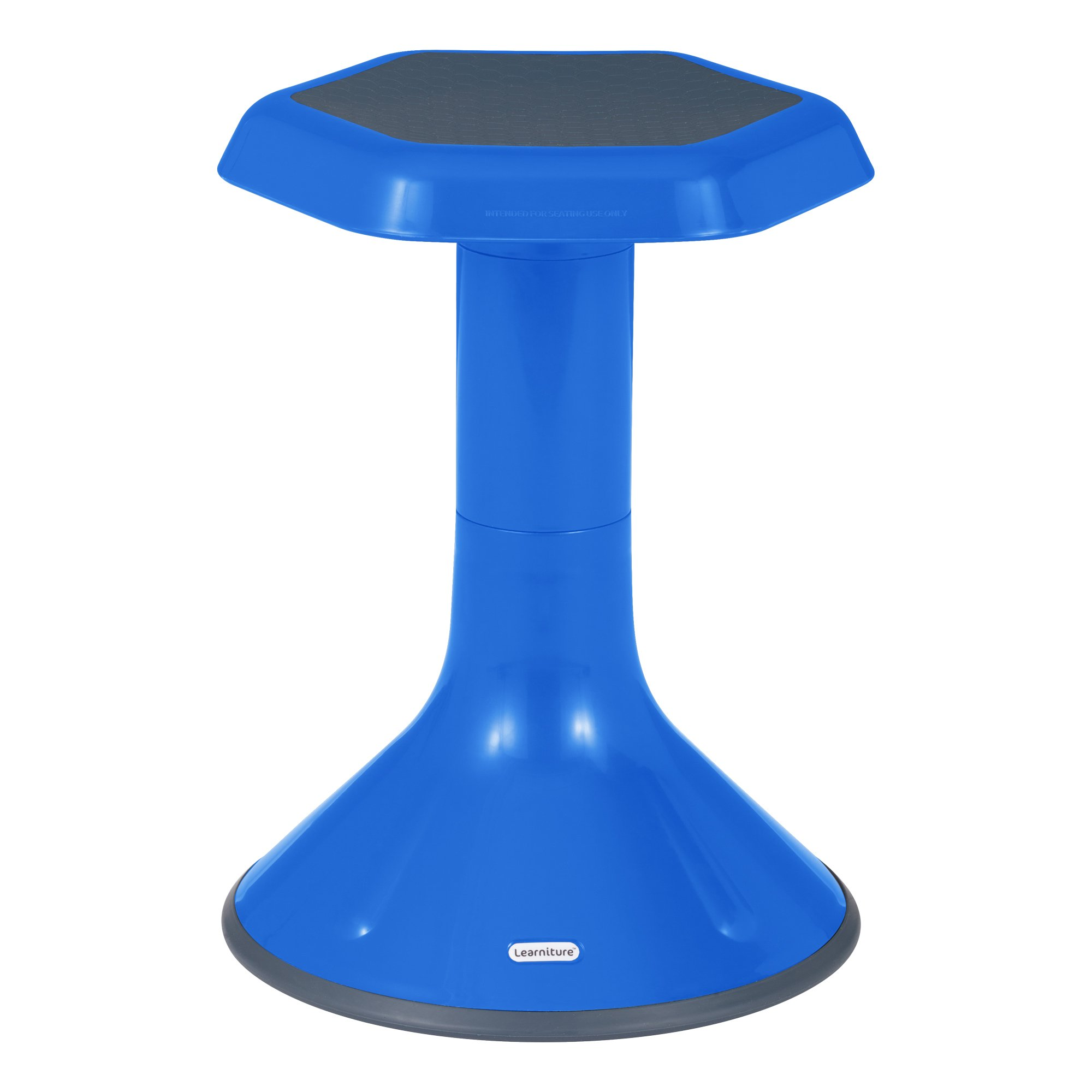 Learniture Active Learning Chair/Stool, 18'' H, Blue, LNT-3046-18BL