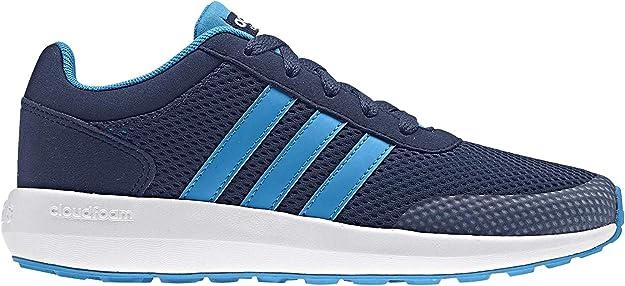 adidas Cloudfoam Race K, Chaussures de Tennis Mixte Enfant