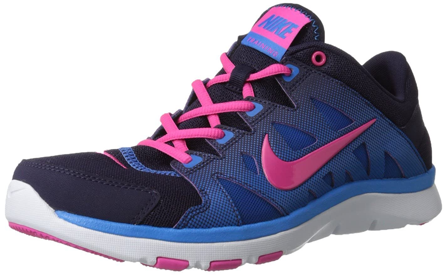 405a4f08bf4d Nike Womens Flex Supreme Tr 2 Training Shoes-purple Dynasty pink Flash   Amazon.co.uk  Shoes   Bags