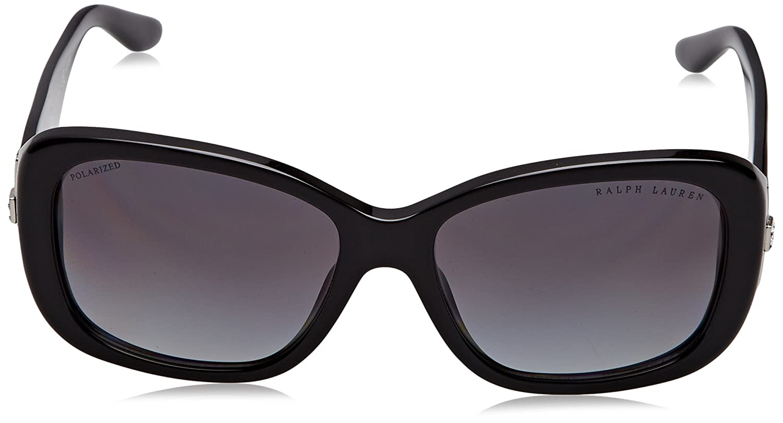 Amazon.com: Ralph Lauren rl8127b de la mujer anteojos de sol ...