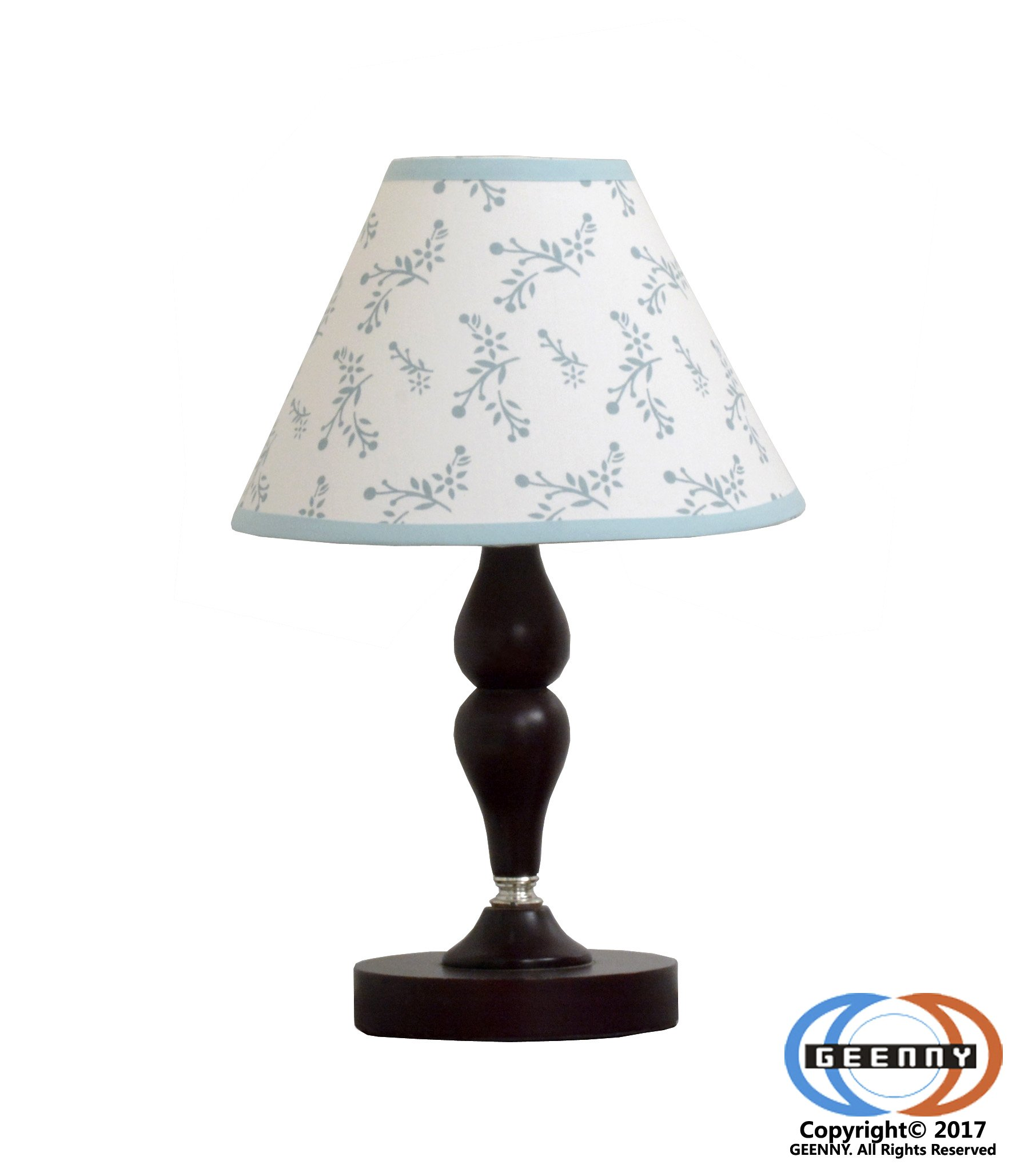 GEENNY Lamp Shade, Enchanted Forest Owls Family