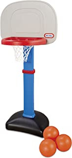 product image for Little Tikes Easy Score Basketball Set, Blue, 3 Balls - Amazon Exclusive