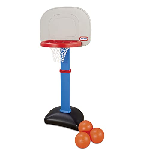 Little Tikes Easy Score Basketball Set red ring and blue stand