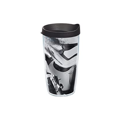 29e202f6fec Image Unavailable. Image not available for. Color: Tervis Star Wars Force  Awakens Storm Trooper Splatter Tumbler with Travel Lid, 16 oz,