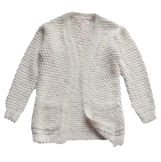 Amazon.com: Big Girls Cardigan Sweaters Begie Gold Sequin: Clothing