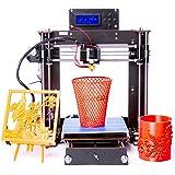 Win-Tinten Impresora 3D Segunda generación Calidad mejorada de alta precisión Reprap Prusa I3 DIY 3D Printer LCD NUEVO (DIY-I3-01)