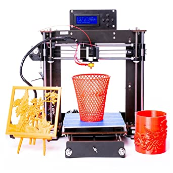 Win-Tinten Upgraded de alta precisión Reprap Prusa i3 DIY 3D impresora