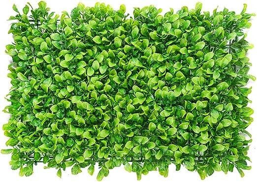 Paneles De Setos De Caja Artificial,alfombra Topiary De Arbustos De Hierba Sintética Telón De Fondo De La Pared De Greenery Al Aire Libre Interior Jardín Privacidad Pantalla Valla-g 60x40cm(24x16inch): Amazon.es: Jardín