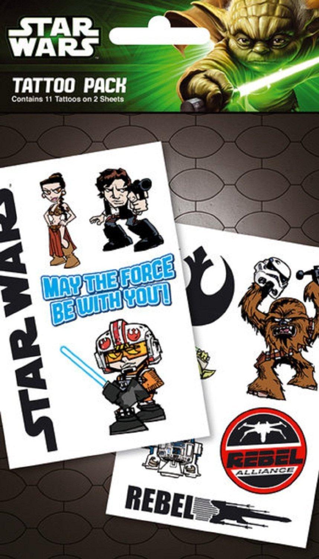 Star Wars Temporary Tattoos (Rebel Pack): Amazon.es: Juguetes y juegos