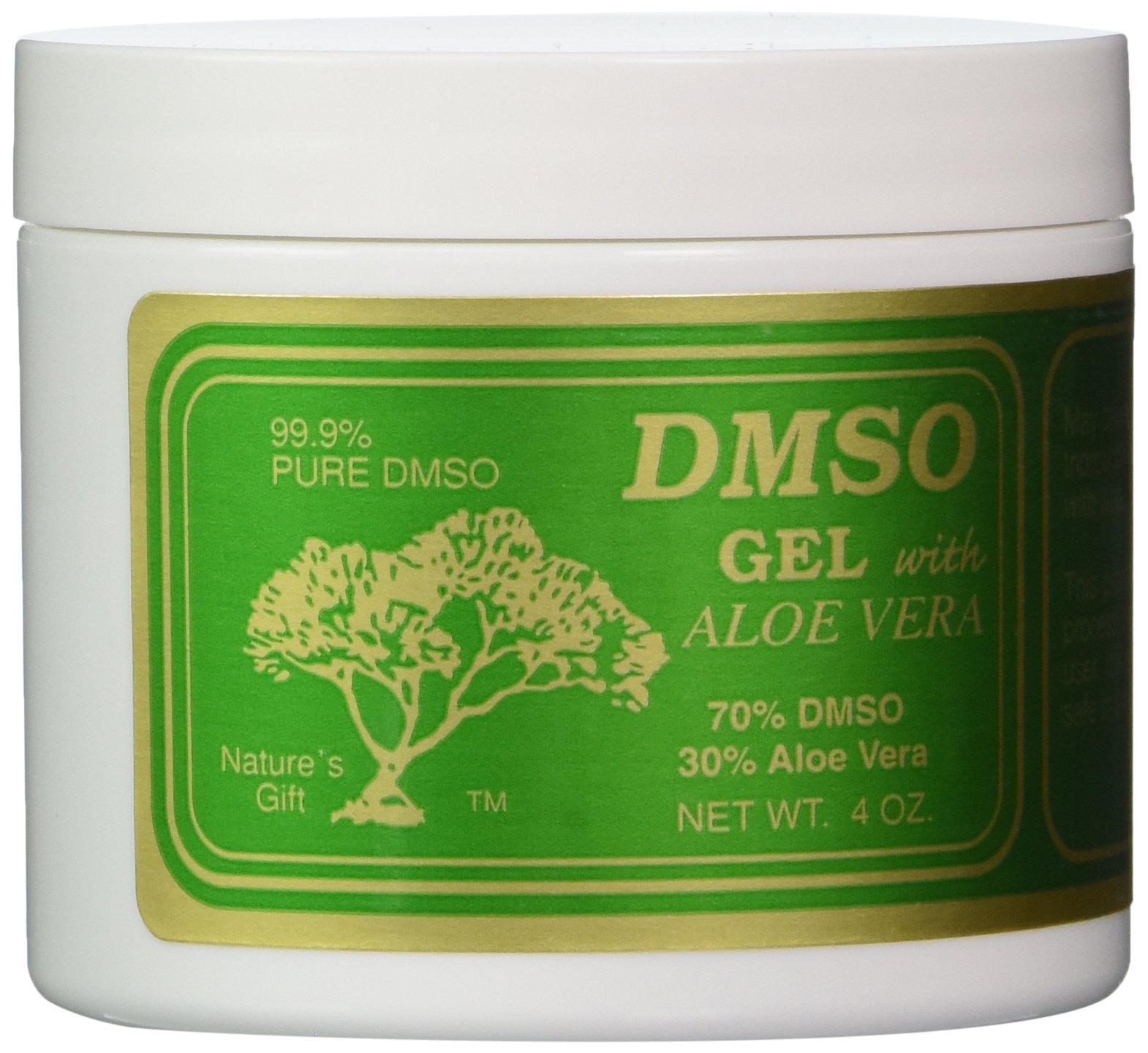 DMSO Gel with Aloe Vera, 4 Ounce by DMSO (Image #1)