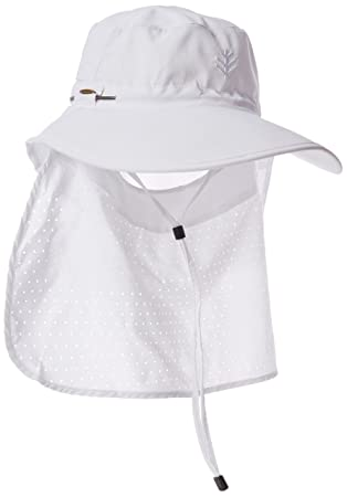 Coolibar Women s UV Protective 50 Plus Ultra Sun Hat - White 1a63812630bf