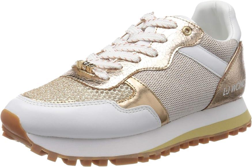 vehículo derrochador pakistaní  LIU JO Shoes LIU Jo Wonder 2.0, Zapatillas para Mujer, Blanco (White  01111), 35 EU: Amazon.es: Zapatos y complementos