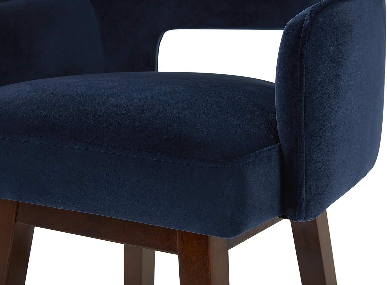 Home & Kitchen Furniture Rivet Malida Mid-Century Modern Open Back ...