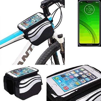 K-S-Trade® Bolso Bolsa Funda Bicicleta Compatible con Motorola ...
