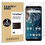 iVoler [2 Pack Pellicola Vetro Temperato Xiaomi Mi A2 [Garanzia a Vita], Pellicola Protettiva, Protezione per Schermo