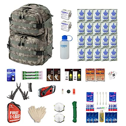 Urban Survival Kit for Earthquakes, Hurricanes, Floods, Tornados by Zippmo Survival Gear