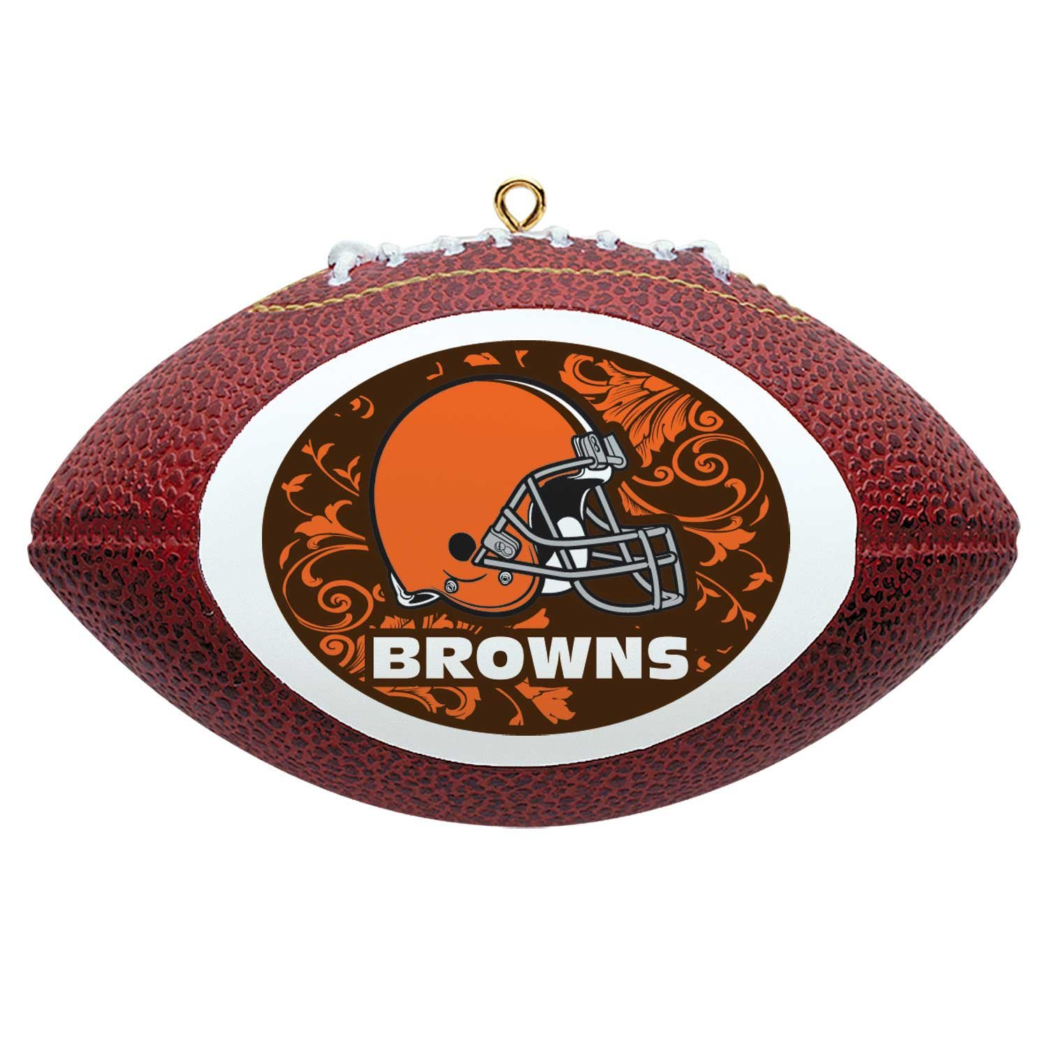NFL Cleveland Browns Mini Replica Football Ornament